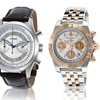 Breitling, Raymond Weil, and Rado Men's and Women's Swiss Watches