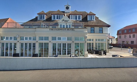 South Wales: 13 Nights for Two with Breakfast, Wine and Option Course Dinner at Fairways Hotel
