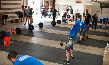 Unlimited <strong>CrossFit</strong> Bootcamp Classes at <strong>CrossFit</strong> Lethal (Up to 61% Off)