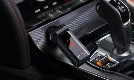 Bluetooth handsfree car kits met een SDkaartsleuf en 2 USBpoorten