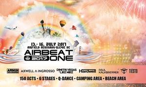 Airbeat One festival: Airbeat One Festival im Juli in Neustadt-Glewe, u. a. mit Armin van Buuren, Tiesto, P. Kalkbrenner (bis zu 34% sparen)