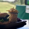 Indoor Golf with Food and Drink
