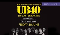 UB40 with Entry to the Races, 30 June at Newcastle Racecourse (Up to 9% Off*)