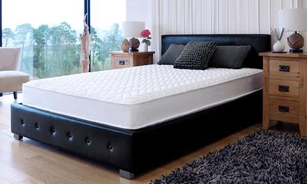 damask bonnell sprung mattress
