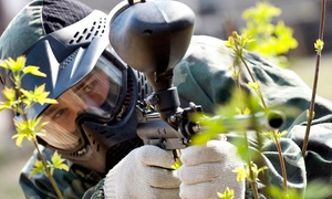 Ab Paintball: Gra w paintball z wyposażeniem i pakietem 100 kulek od 119,99 zł w Ab Paintball (do -58%)
