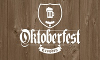 Octoberfest Croydon, Standing or Seated Ticket, 27 - 28 October 2017 (Up to 55% Off)