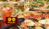 ピッツァ12種以上&ポテト食べ放題など+飲み放題150分