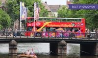 Découvrez la ville en bus et/ou bateau Hop on Hop off de City Sightseeing Amsterdam