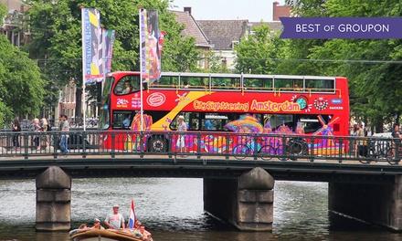 Ontdek Amsterdam op een unieke manier met de Hop On-Hop Off bus- en/of boot tour van City Sightseeing Amsterdam