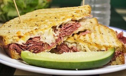 $11 for $20 Worth of Deli Sandwiches, Breakfast, and Grill Items at Reed's Deli
