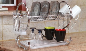 2-Tier Dish Rack (4-Piece)