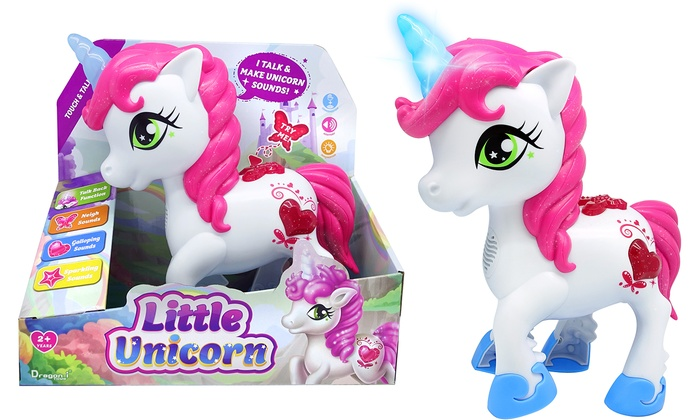 Touch and Talk Interactive Talking Magical Unicorn