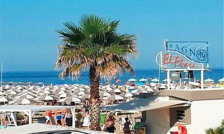 Bellariva: ingresso in spiaggia a 16,90€euro