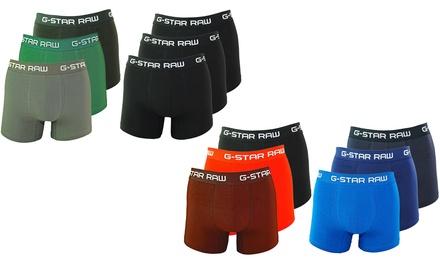 Set van 3 katoenen GStar RAWboxers