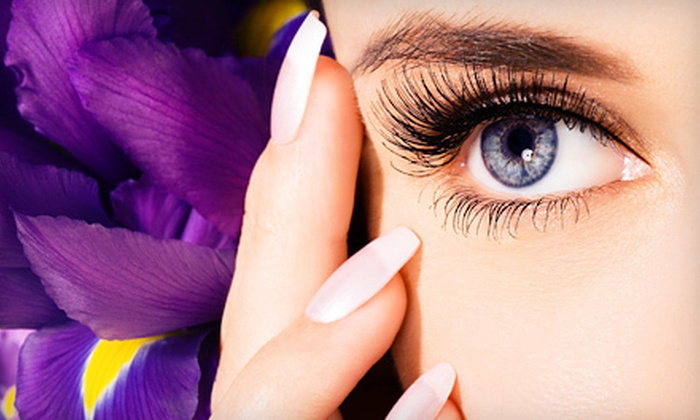 Eye Love Lash & Nail Studio - Indian Head Park: $95 for Lash Extensions, No-Chip Manicure, and Wine at Eye Love Lash & Nail Studio ($190 Value)