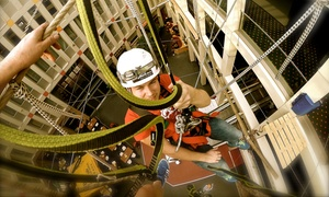 Bergwerk Berlin: 2,5 Std. Kletterspaß inkl. Einweisung und Sicherheitsausrüstung für 2 Personen im BergWerk Berlin (50% sparen*)