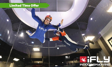 $59 for Two Flights for One Person at iFly Downunder Penrith Up to $109 Value