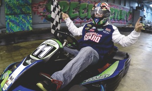 Up to 50% Off Racing Package at Speed Factory Indoor Karting at Speed Factory Indoor Karting, plus 6.0% Cash Back from Ebates.