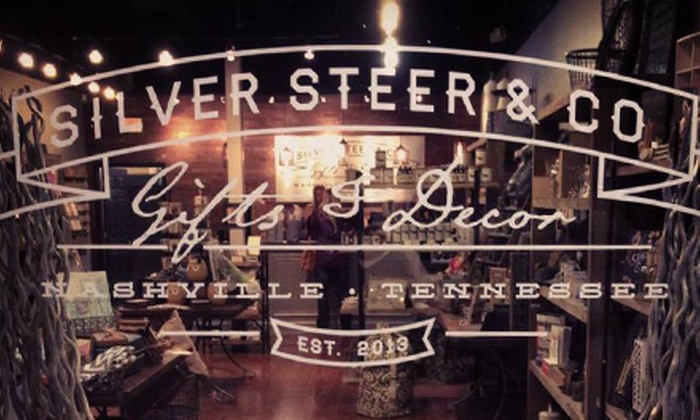 Silver Steer & Co. - Franklin: Gifts and Decor at Silver Steer & Co. (Half Off). Two Options Available.