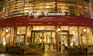 "Caffe Concerto: Choice of Standard 8"" Cake for Takeaway from Caffe Concerto, Multiple Locations (Up to 39% Off)"
