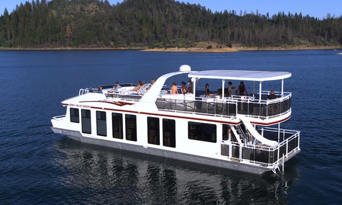 House Boat Stay On Lake Shasta ...