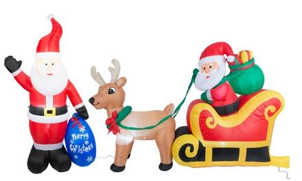 Pupazzi di Natale gonfiabili