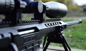Akademia Obrony Saggita : Strzelanie z różnych rodzajów broni od 99,99 zł w Akademi Obrony Saggita (do -50%)