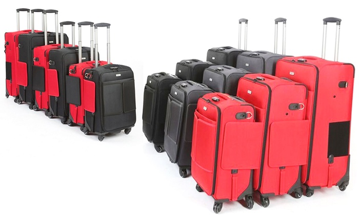 TACH Quick-Connecting Luggage Sets (1-, 2-, or 3-, or 4-Piece)