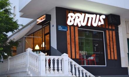 Menú para 2 con principal, acompañamiento y bebida en Brutus Málaga (50% de descuento)