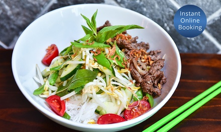 Vietnamese Feast with Cocktails for Two $49 or Four People $95 at Saigon Lane Glebe Up to $220 Value