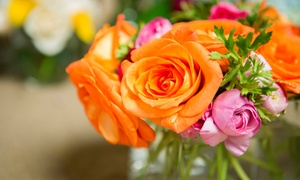 Brigitte's Flower Shop: Flowers and Celebratory Gifts at Brigitte's Flower Shop (Up to 50% Off). Three Options Available.