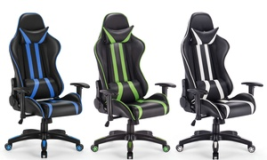 High Back Reclining Gaming Chair. Multiple Colors Available.