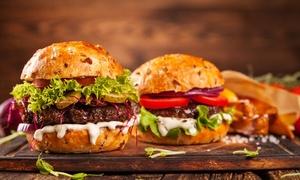 Bistro Piatsa: Wybrany burger z napojem (od 29,99 zł) lub z deserem (od 34,99 zł) w Bistro Piatsa w Bielsku-Białej (-37%)