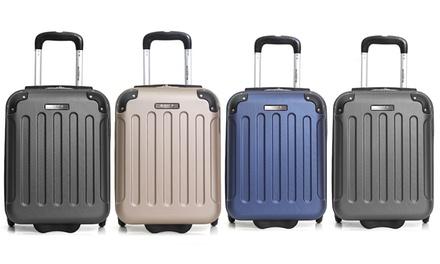 1 ou 2 valises cabine Low Cost Bluestar en ABS, capacité 26L
