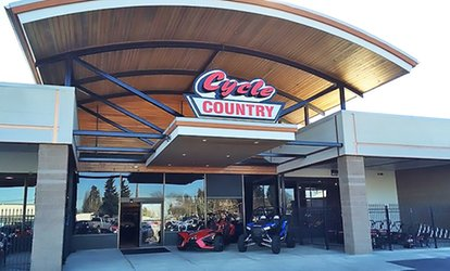 image for Motorcycle Service Inspection, <strong>Repairs</strong>, or Accessories at Cycle Country (Up to 88% Off)