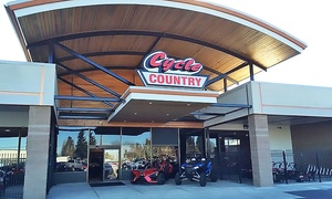 Cycle Country : Motorcycle Service Inspection, Repairs, or Accessories at Cycle Country (Up to 88% Off). Two Options Available.