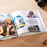 Groupon.com deals on 20-Page 8x8 Custom Hard Cover Photo Book from Shutterfly