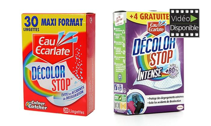 54 à 324 lingettes Dcolor Stop dès 790 € (jusquà 69% de rduction)