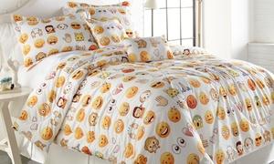 Emoji Collection Printed Comforter Set (4-or 5-Piece)