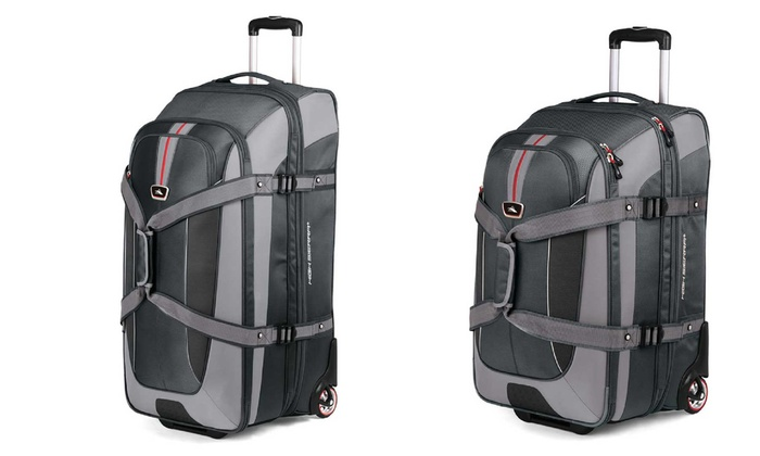 High Sierra Rolling Backpack Carry-on and Wheeled Duffel Bag | Groupon