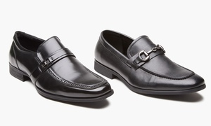 Unlisted by Kenneth Cole Men's Loafers with Buckle