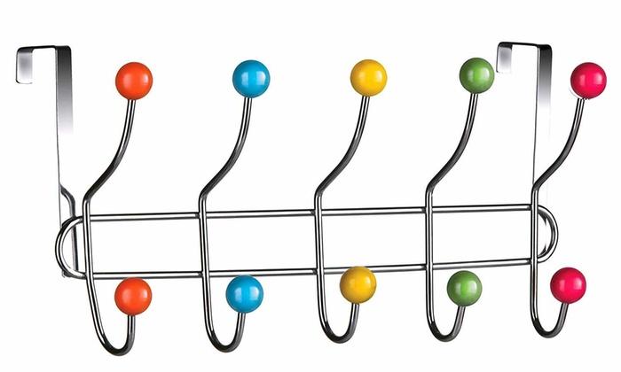 Appendiabiti da porta multicolore