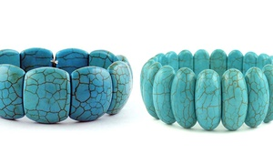 Genuine Turquoise Bracelets in Stainless Steel at Genuine Turquoise Bracelets in Stainless Steel, plus 9.0% Cash Back from Ebates.