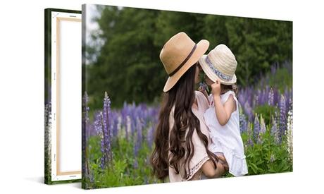 Fotolienzo clásico personalizable a elegir entre varios tamaños con Photo Gifts (hasta 86% de descuento)