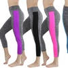 Women's Active Capri Leggings With Wide Contrast Side Panel (5-Pack)