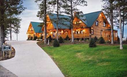 1-Night Stay for Two at Pine Lakes Lodge in Salesville, OH. Combine Up to 2 Nights.