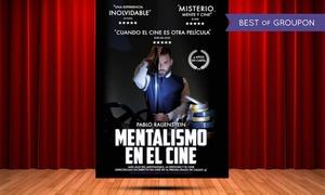 """Súper 8: Entrada al espectáculo """"Mentalismo en el Cine"""" del 7 de octubre al 27 de enero por 10 € en Palacio de la Prensa"""