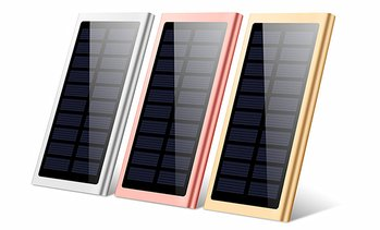 Solar Panel Power Bank 10000mAh