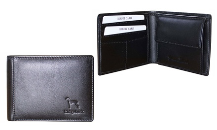 One or Two Men's Redgerback Genuine Leather Wallets