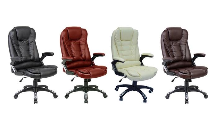 Bureaustoel Met Verwarming.Bureaustoel Met Massagefunctie Groupon Goods